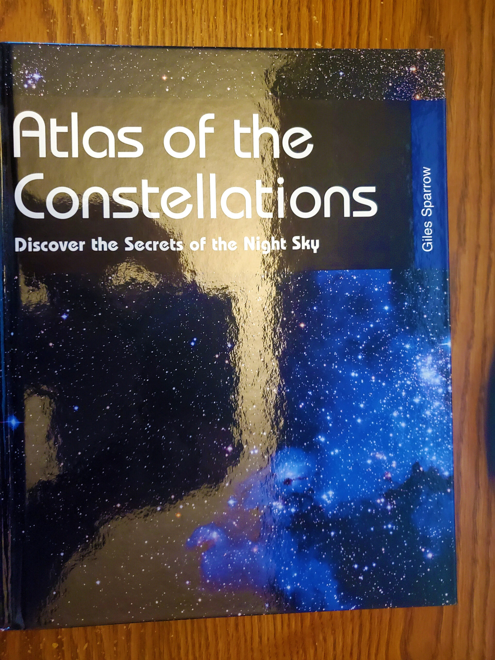 Atlas of the Constellations by Giles Sparrow