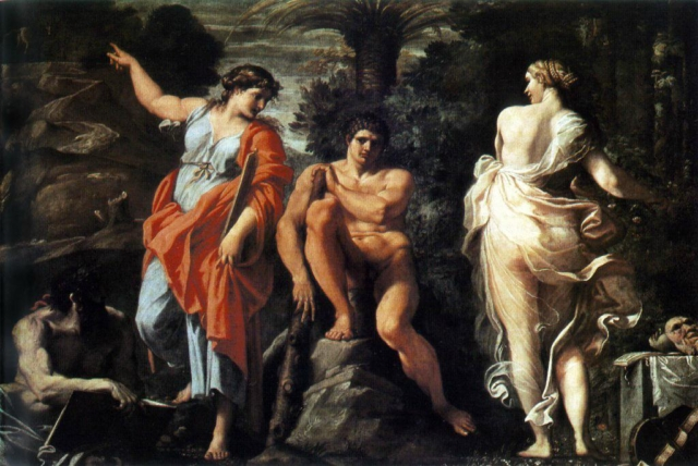 The Choice of Hercules by Annibale Carracci